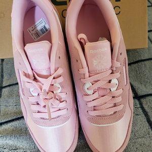 Converse Shoes - Reebok Classic Nylon Pink Sneakers NEW SZ 6 Kids e34d51431